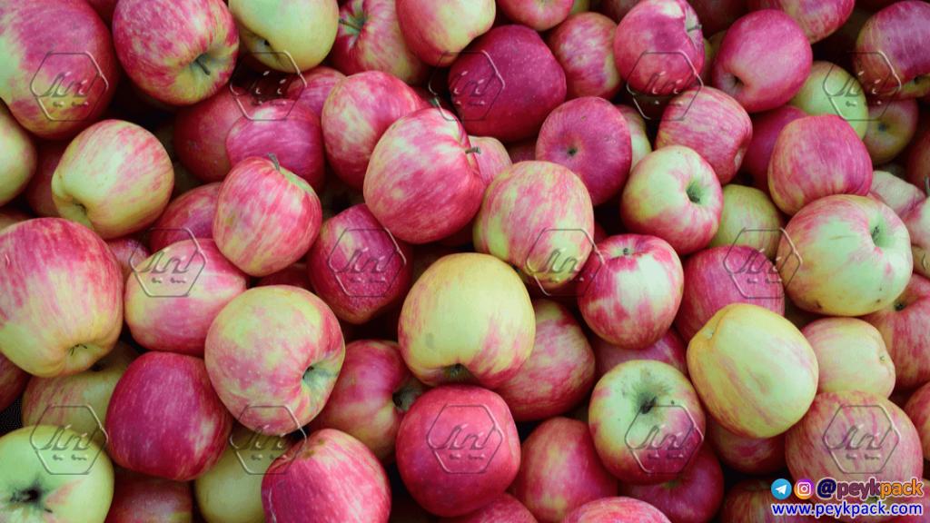 سیب های چند رنگ زیبا